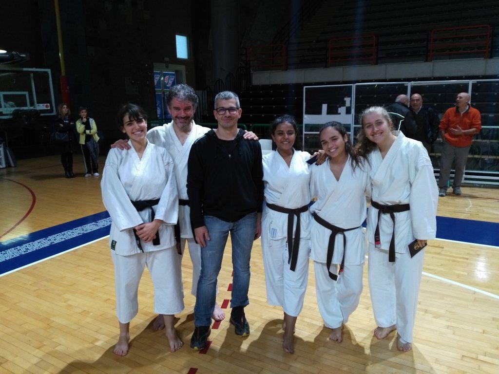 Il Maestro Bovo con i nostri atleti
